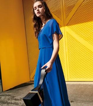 OUBOR欧娅铂品牌女装 蓝色系列穿出纯净气质
