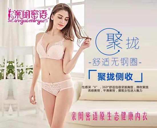 亲闺密语三大核心竞争力占领女性内衣<a href='http://www.china-ef.com/brand/'  style='text-decoration:underline;'  target='_blank'>加盟</a>市场
