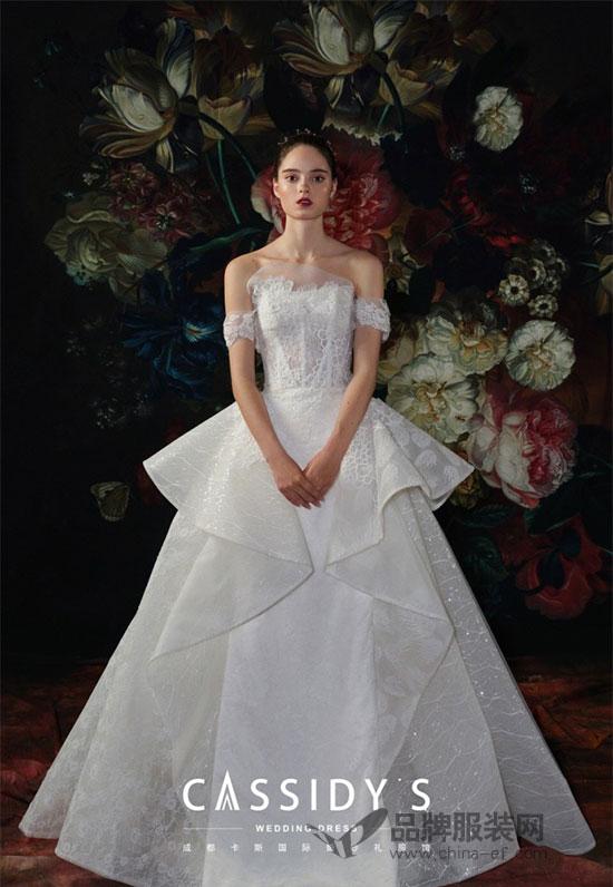 CASS卡斯国际婚纱2018新品释出 从心感知您的气质