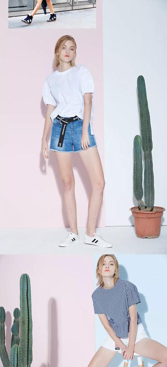 用潮流来迎接cool夏 从一条牛仔短裤开始