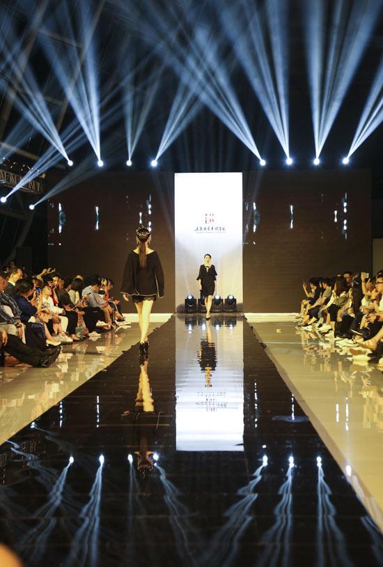 上海视觉艺术学院时尚设计学院 设计作品联展开幕
