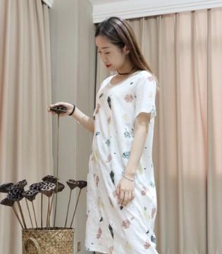 季歌品牌折扣女装休闲T恤裙 夏日里给你一份清凉&自在