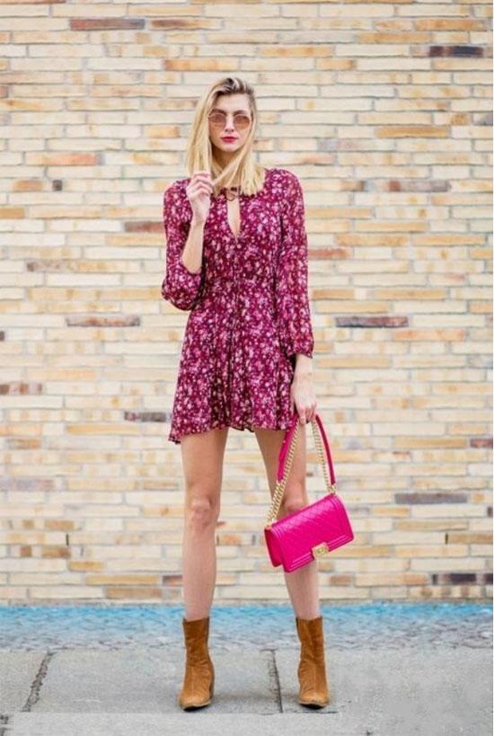 如何轻松扮嫩?Saslax一条既优雅又少女的茶歇裙能让你事半功倍