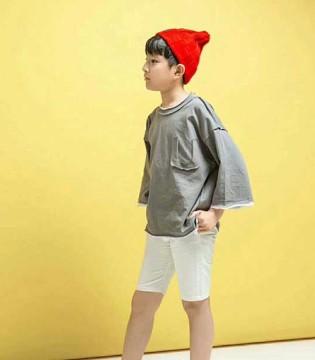 小嗨皮夏季童装为你点燃梦幻活跃的童年