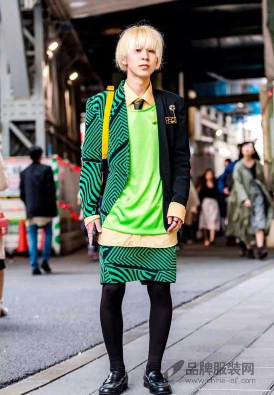 2018东京时装周场外混搭热烘烘  引领时尚