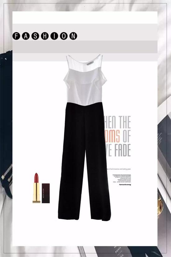 MYMO&M.HITI连体裤 极致的美是温柔却有力量
