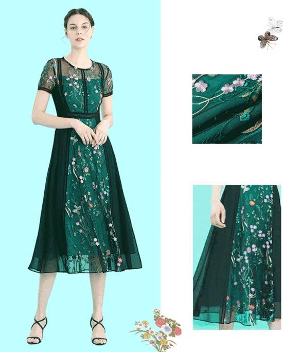 SUSSI古色品牌女装新品上新 梦幻之夏的连衣裙