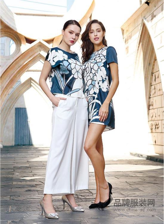 """""""迪奥edda Dior""""印花裙自带女神风格 带来清新的夏日感受"""
