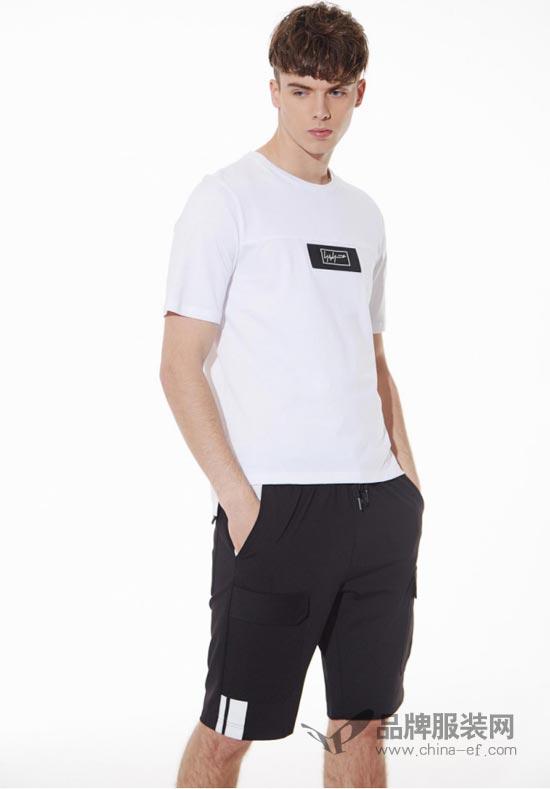 """""""佐纳利""""时尚潮流的T恤装扮 完美展现男人的夏日魅力"""