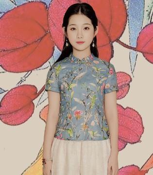 年轻时尚的曼茜纱民族裙装  就是时尚女性的文艺选择