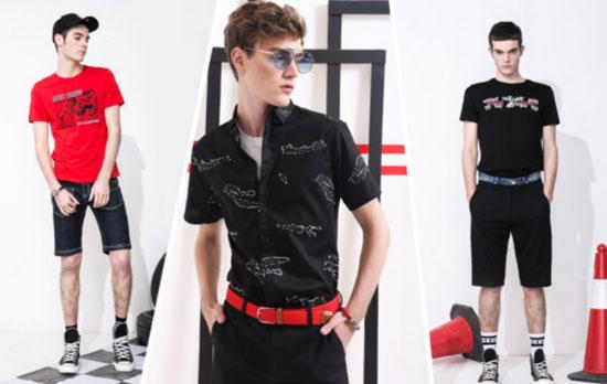 莎斯莱思时尚男装 潮爆街头的C位穿搭 你确定不pick一下?