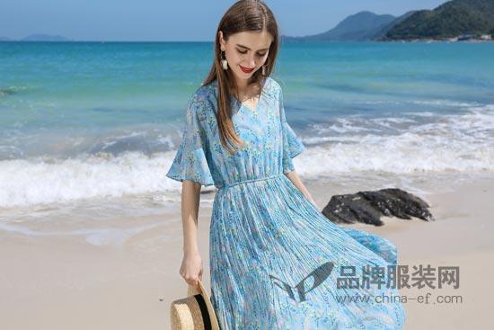 依贝奇<a href='http://www.china-ef.com/brand/'  style='text-decoration:underline;'  target='_blank'>品牌</a>女装夏季新品 让你时时刻刻都美美的~