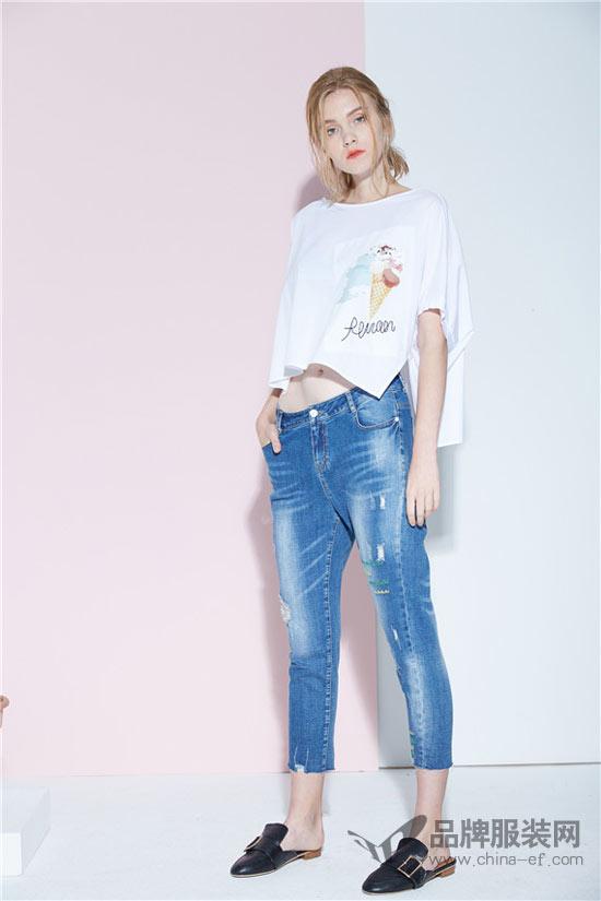 夏季少不了的时尚潮流单品 尽在水淼品牌女装中