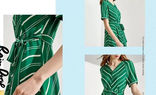 """布莎卡品牌时尚女装 端午对你一见""""粽""""情"""