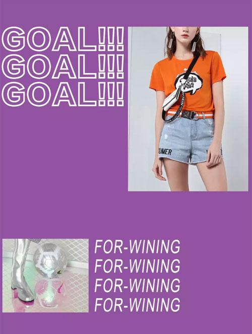 飘蕾PEOLEO品牌女装 成为1%的时髦足球Girl