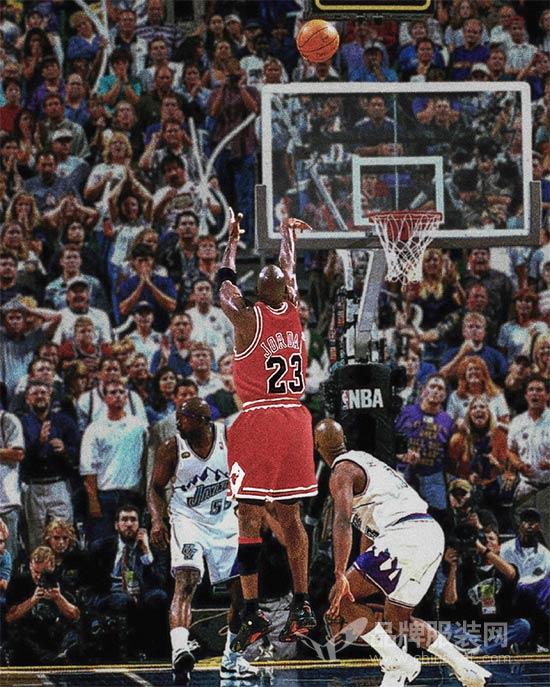 "Jordan""最后一投""系列登场 带你重温飞人夺冠的高光时刻"