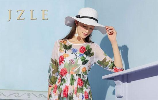 JZLE珈姿莱尔 永不负卿的斑斓夏日 优雅是最美的年华!