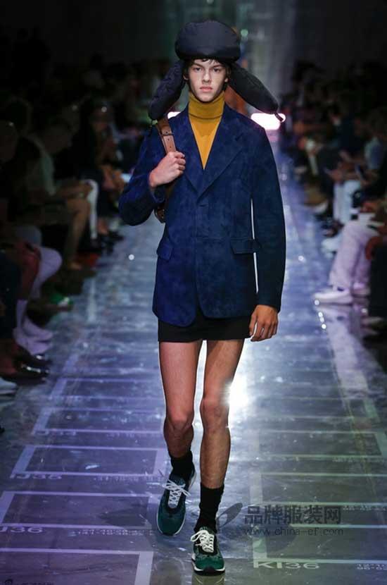 Prada2019春夏男装 为你呈现不一样的男性风姿