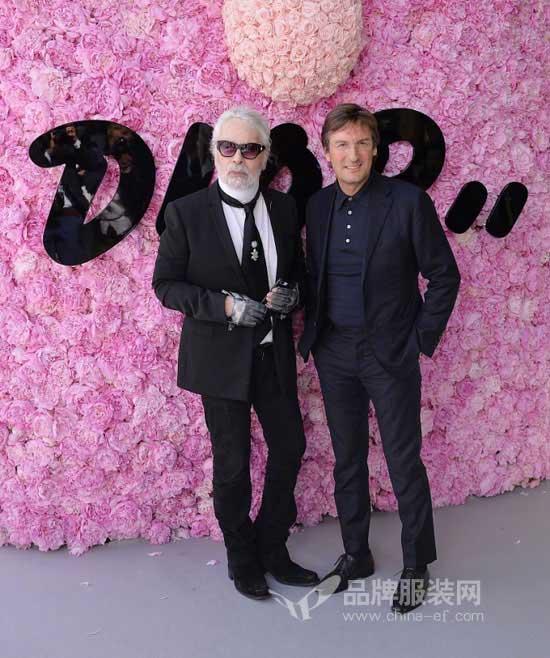 胡兵丁海寅众星亮相2019男装周 Dior Homme人气最旺