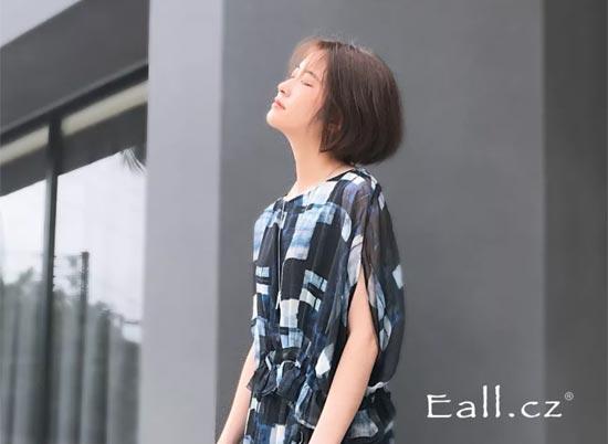 """Eall.cz意澳品牌女装""印花与几何艺术的邂逅"