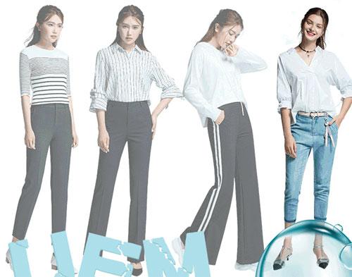 优衣美品牌女装新品上新 腿型的拯救计划!