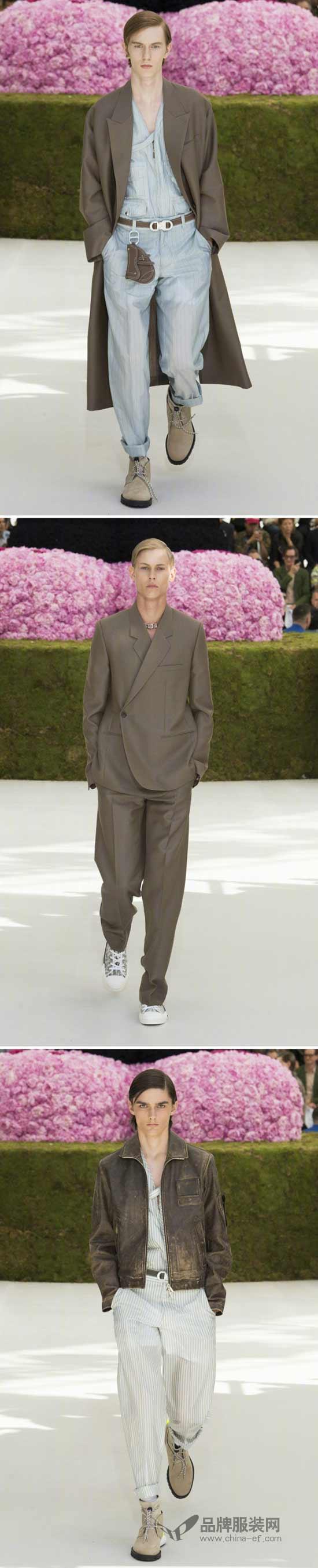DIOR迪奥二零一九夏季男装系列新品发布秀 致敬迪奥先生