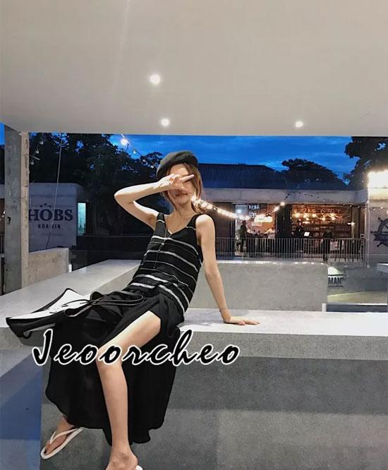 着秀女装 黑色系不仅百搭 还如此显瘦修身!