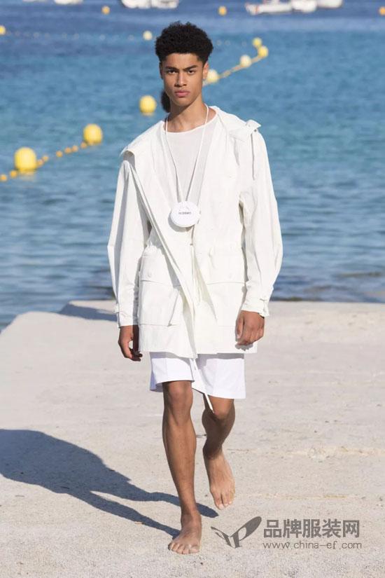 Jacquemus2019春夏男装首秀:阳光地中海男孩