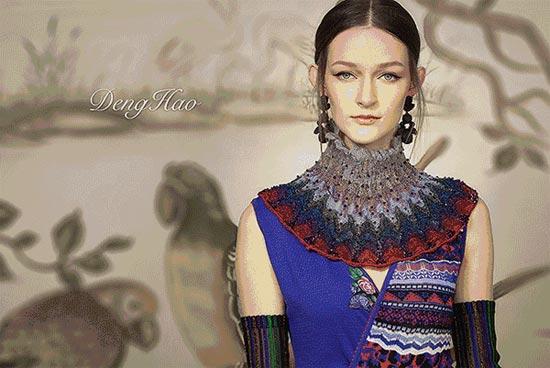 DengHao 针织女王 新品发布会 花鸟的针织世界