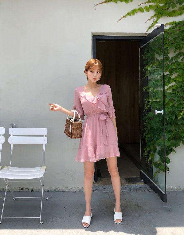 品牌折扣女装聚多品:韩版雪纺裙 约会斩男款好多啊