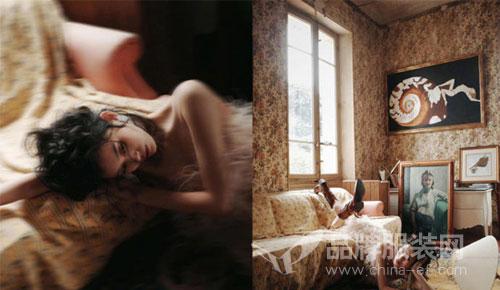 奚梦瑶登上《Grazia红秀》新刊封面 慵懒的热带家居风