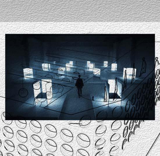 MJUT静界品牌服饰 品牌概念艺术展