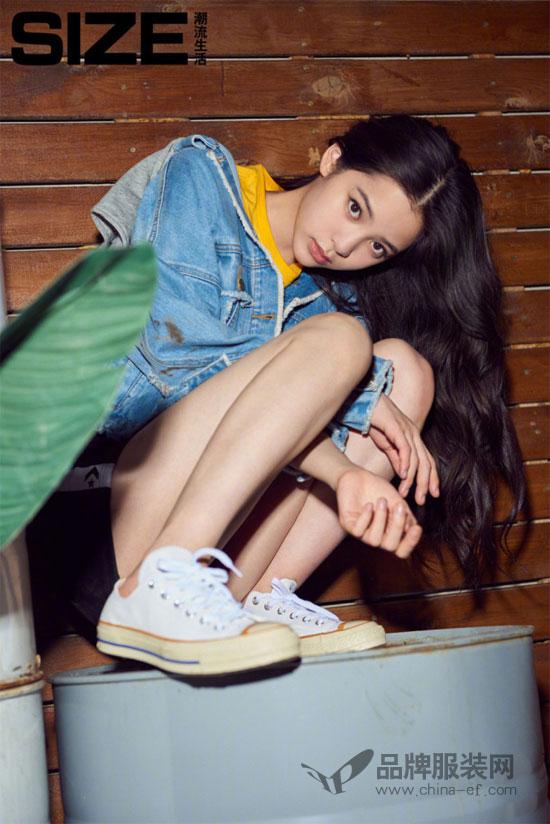 欧阳娜娜杂志大片 一个全新的帅气女孩形象刷新你的认知
