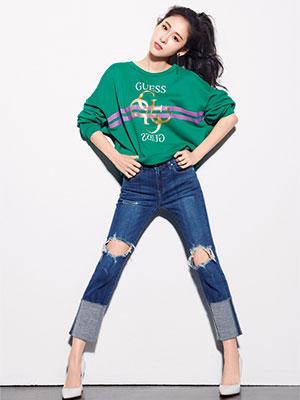 时装品牌GUESS携手实力唱将张碧晨共同开启品牌全新篇章