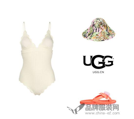 Angelababy演绎全新UGG 2018夏日广告大片