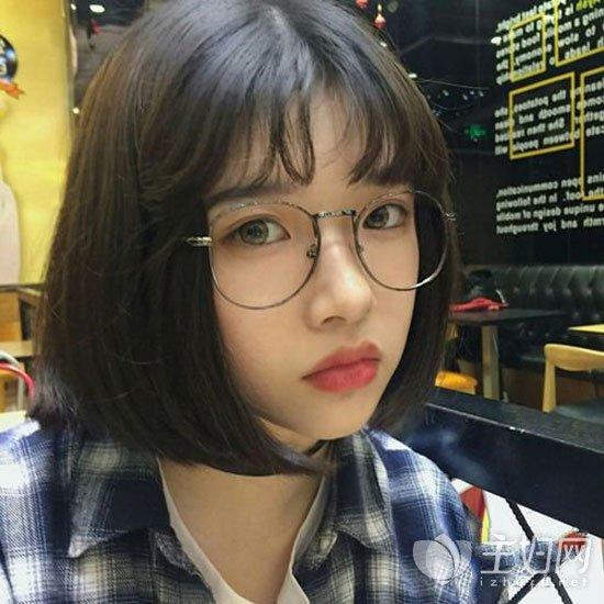 2018这几款短发时尚流行 韩国小姐姐都爱的女生发型图片