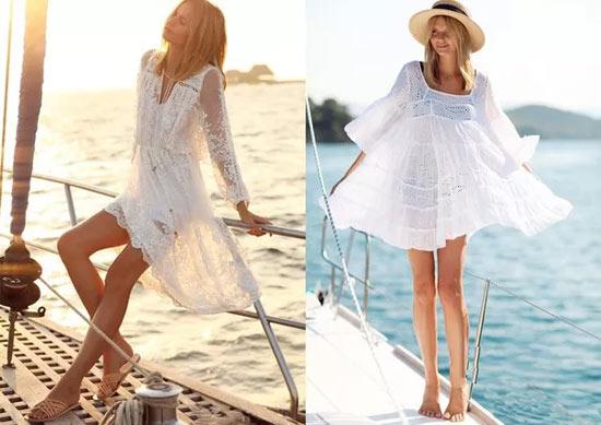 去海边吹吹风 除了仙美连衣裙还有这些美搭