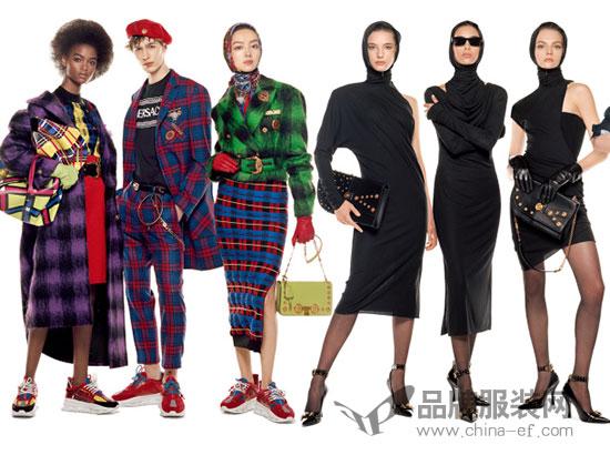 Versace范思哲2018秋冬系列广告大片震撼来袭