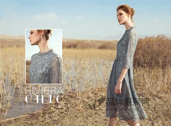 邦宝女装用灰色空间的色度打造秋日的浪漫与艺境