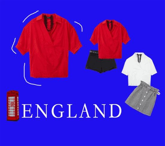 七月英伦 | 潮味红白蓝 你绝对不可错过的英式魅力