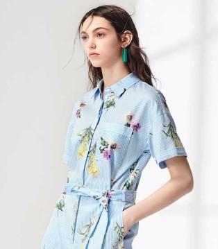 布莎卡品牌女装教你穿出高衣品 让你回归曼妙的雨季