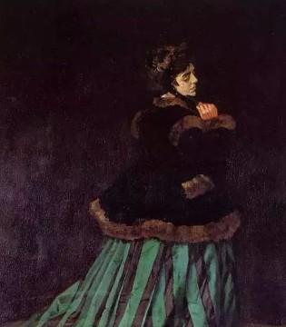 画尽世界光影 只为挚爱的女人---克劳德 莫奈&卡美伊