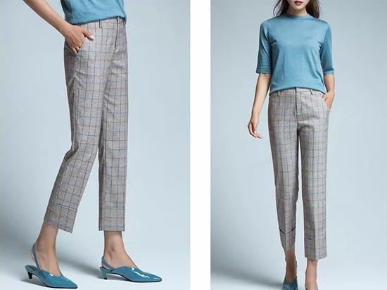 优衣美女装新品上新 用裤子去定义一种生活