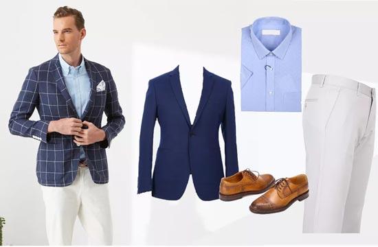 富绅分享 都市精英一周穿衣指南 中年油腻男秒变办公室男神