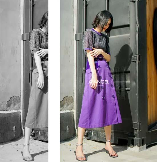 """今年秋季流行的""""C位紫"""" 恰到好处的时髦感"""