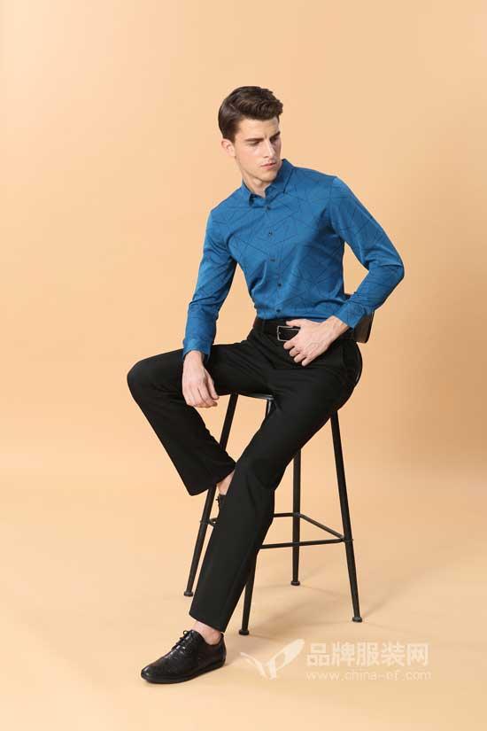 穿上高级感的衬衫是什么感觉?看男人智造给你打造