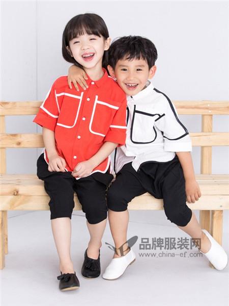童衣汇美丽舒适的童装 让你拍照不自觉嘴角上扬