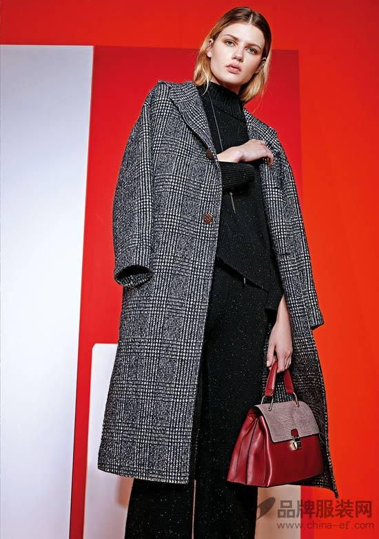 乔帛2018秋冬时尚大片 演绎简单纯粹的优雅时尚