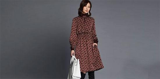 东之上时装2018早秋系列 浓烈印花正当红