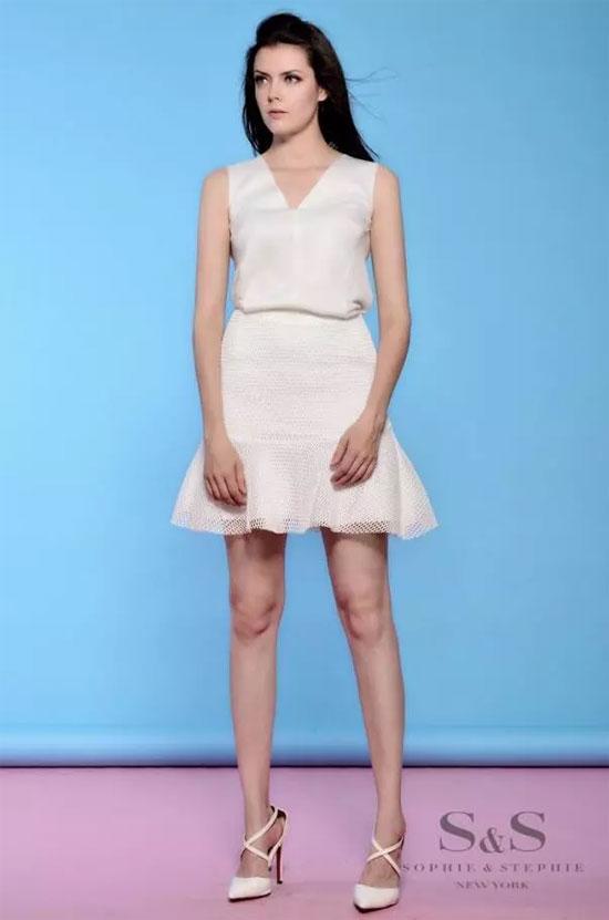 小个子适合穿半身裙吗 高腰露腿最显高